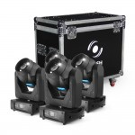 Flash SET 4x 150W LED MH 3v1