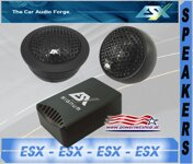 ESX SIGNUM-ELITE 25 mm Tweeter SQ-6.2T