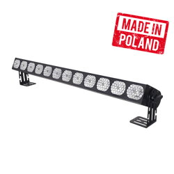 Vintage LED WASHER 12x30W White 4in1 (2000K, 3000K, 4000K, 9000K) COB 12 SECTIONS -SHORT Mk2