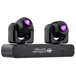 American DJ Inno Pocket Spot Twins LED